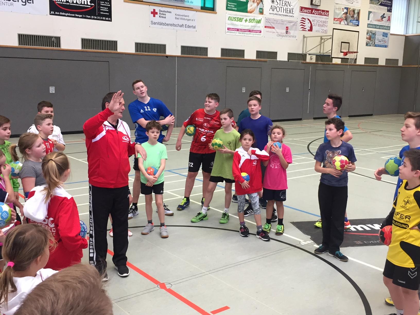 Handballcamp mit Dago Leukefeld war ein voller Erfolg | HSG